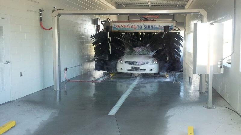 car wash photos Texas AUTEC soft touch auto dealer arch