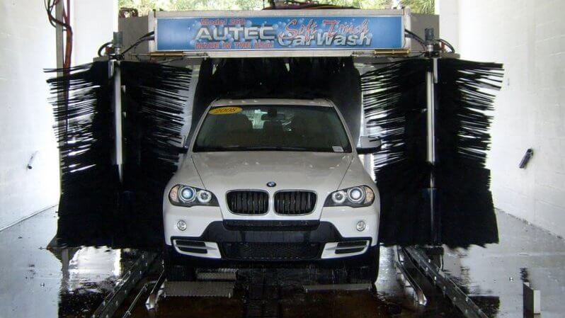 car wash photos Texas auto dealer soft touch BMW