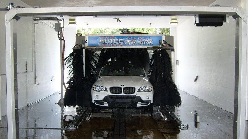car wash photos Texas auto dealer soft touch tunnel