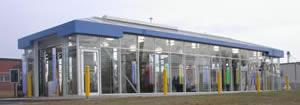 car wash service building in North Texas